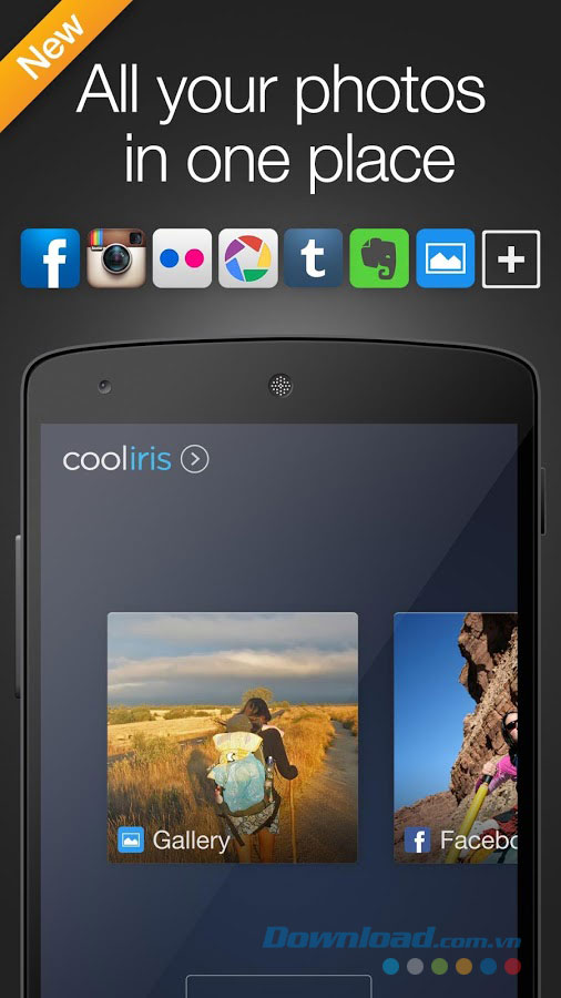 Cooliris for Android