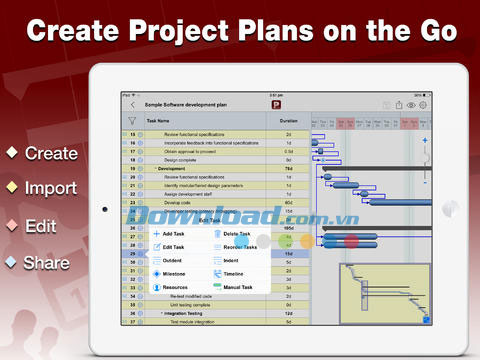 Project Planning Pro for iPad