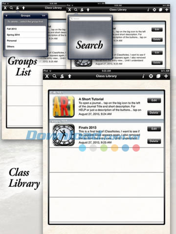 iClassNotes for iPad