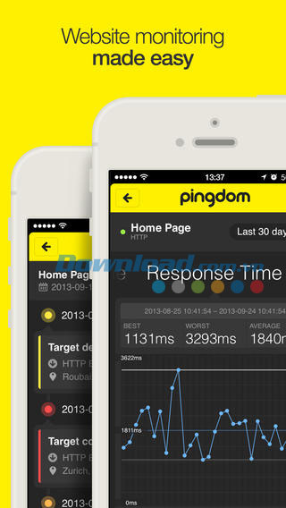 Pingdom for iOS