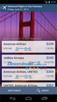 Expedia Hotels & Flights for Android