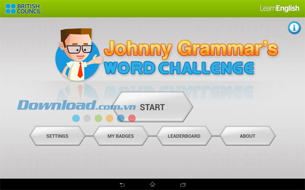 Johnny Grammar's Quizmaster for Android