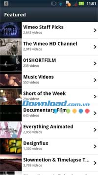 Vimeo for Android