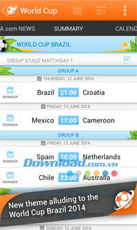 LiveSoccer for Android
