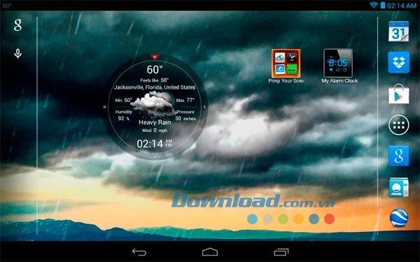 Weather Live cho Android