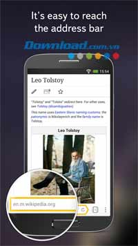 Yandex.Browser cho Android