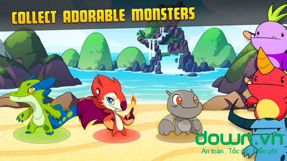 MinoMonsters cho iOS