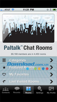 Paltalk cho Android