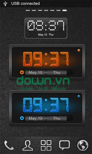 GO Clock Widget for Android