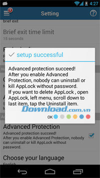 AppLock cho Android