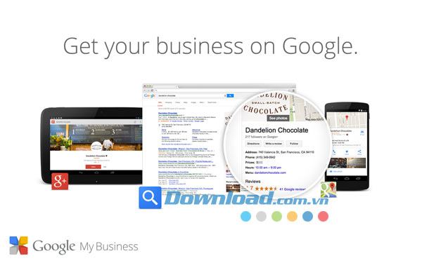Google My Business cho Android