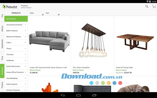 Houzz cho Android
