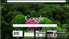 Hướng dẫn thay đổi hình nền trình duyệt Chrome