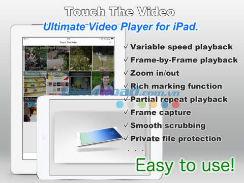 Touch The Video Lite cho iOS