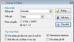 Cách chuyển văn bản chữ thường sang in hoa bằng Unikey