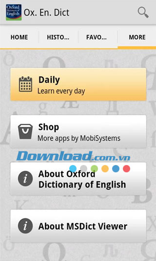 Oxford Dictionary of English cho Android