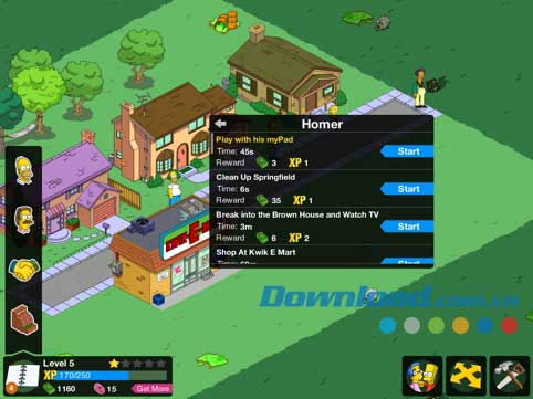 The Simpsons: Tapped Out cho Android