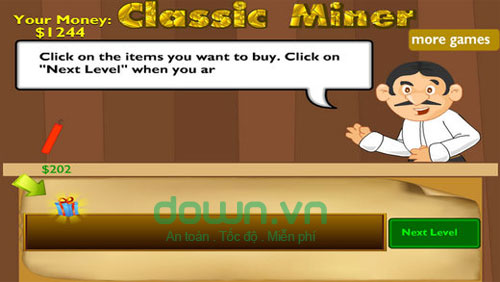 Classic Miner Free cho iOS