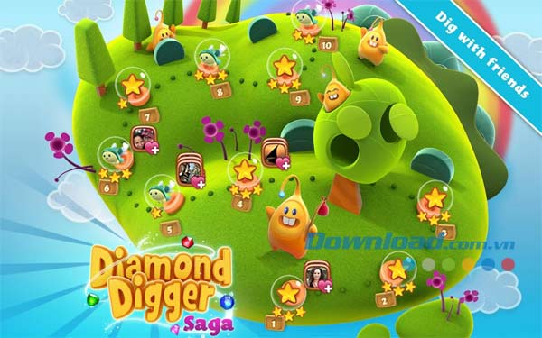 Diamond Digger Saga cho Android