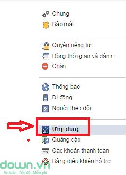 go bo ung dung Facebook 2 Cách gỡ bỏ các ứng dụng trên Facebook