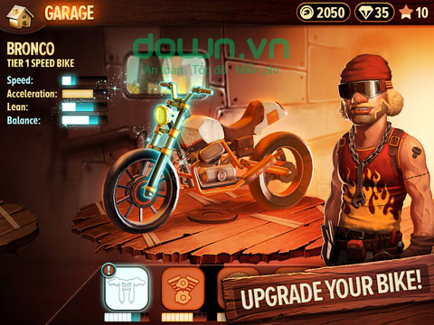 Trials Frontier cho iOS