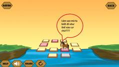 Đáp án game Qua Sông IQ câu 13, 14