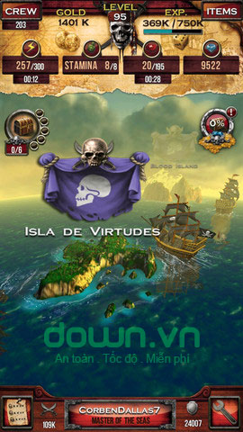 Pirates of the Caribbean: Master of the Seas cho iOS