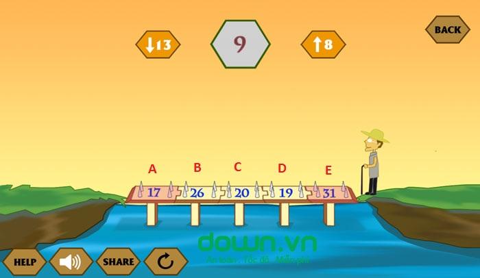 Đáp án game Qua Sông IQ câu 15, 16