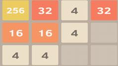 Mẹo hay chơi game 2048 đạt điểm cao