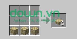 Figure 10: Cách chế tạo đồ trong Minecraft