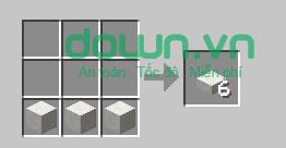 Figure 11: Cách chế tạo đồ trong Minecraft