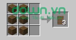 Figure 13: Cách chế tạo đồ trong Minecraft