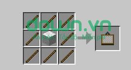Figure 14: Cách chế tạo đồ trong Minecraft