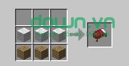 Figure 15: Cách chế tạo đồ trong Minecraft