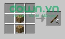 Figure 2: Cách chế tạo đồ trong Minecraft
