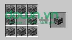 Figure 5: Cách chế tạo đồ trong Minecraft