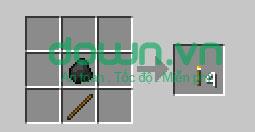 Figure 6: Cách chế tạo đồ trong Minecraft
