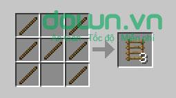 Figure 7: Cách chế tạo đồ trong Minecraft