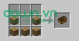 Figure 9: Cách chế tạo đồ trong Minecraft