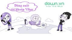 Hướng dẫn đăng xuất tài khoản viber trên máy tính