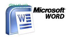 Mẹo hay khi dùng Microsoft Word