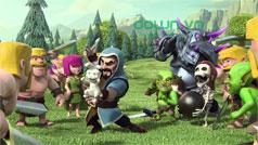 Các loại phép thuật hỗ trợ trong game Clash of Clans