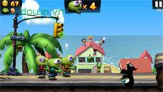 Hoàn thành nhiệm vụ trong game Zombie Tsunami phần 1