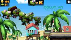 Cách kiếm vàng nhanh trong game Zombie Tsunami