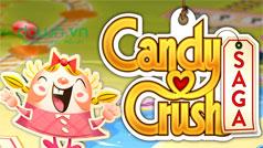 Cách vượt qua những màn khó nhất trong Candy Crush Saga