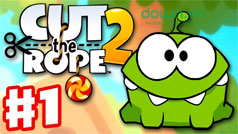 Mẹo hay chơi game Cut the Rope 2