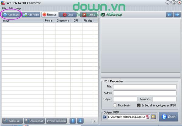 jpg files to pdf free