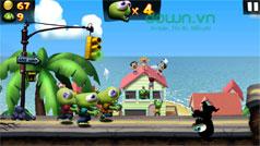 Thủ thuật chinh phục game Zombie Tsunami
