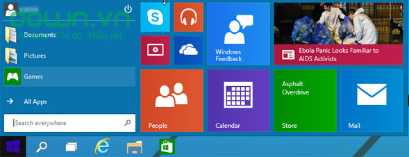 Một số cách tùy chỉnh Start Menu trên Windows 10