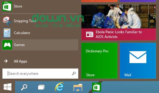 Figure 6: Một số cách tùy chỉnh Start Menu trên Windows 10